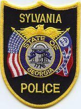 SYLVANIA GEORGIA POLICE PATCH