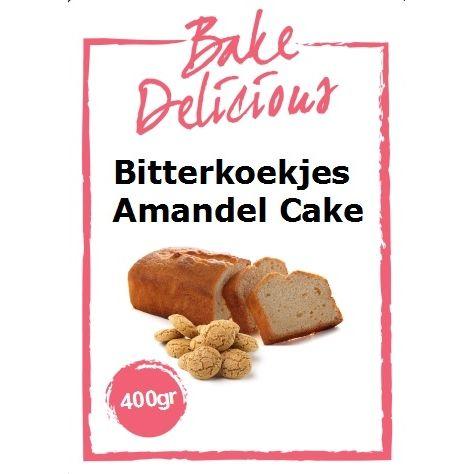 Bake Delicious Bitterkoekjes Amandel Cake