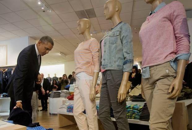 Lihat! Presiden Barack Obama Belanja Pakaian