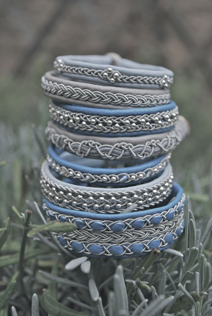 Collection Sami bracelets by Passion for Sapmi