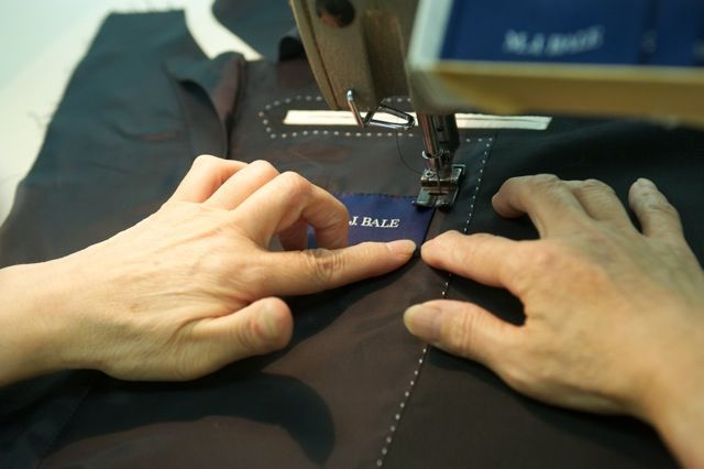 The Making of the Collection Suits M.J.Bale In Japan  www.mjbale.com