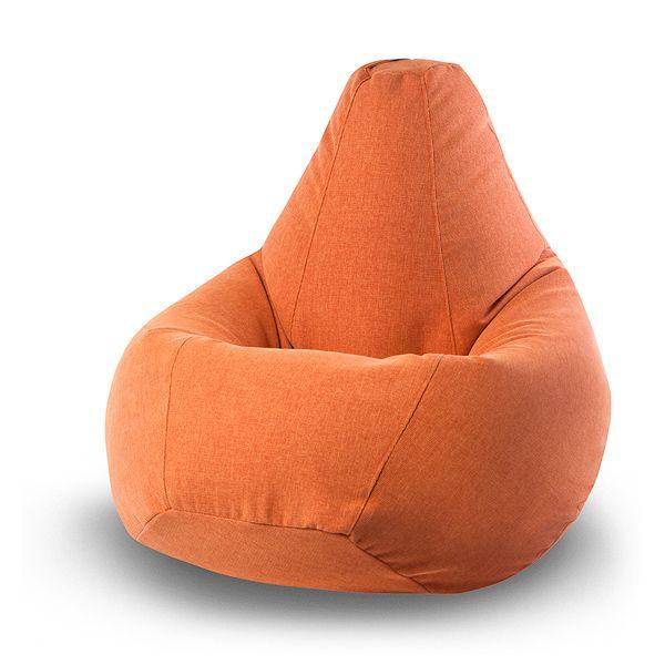 Кресло-груша Vella Orange XL (оранжевый) Словно маленькое солнышко, это кресло-мешок принесёт с собой в ваш дом или офис частичку тепла и комфорта. Яркий оранжевый цвет в сочетании с внушительным размером кресла словно приглашают присесть и отбросить все проблемы и заботы.