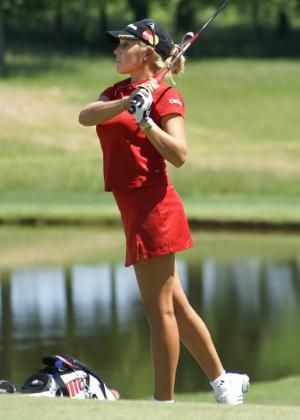 Check Out These Great Photos of Golfer Natalie Gulbis: At the 2008 LPGA Championship