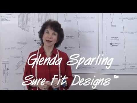 http://www.surefitdesigns.com http://sfdLearningCenter.com Learn how to alter/adjust for an asymmetrical hip and waist level on your Sure-Fit Designs™ skirt ...