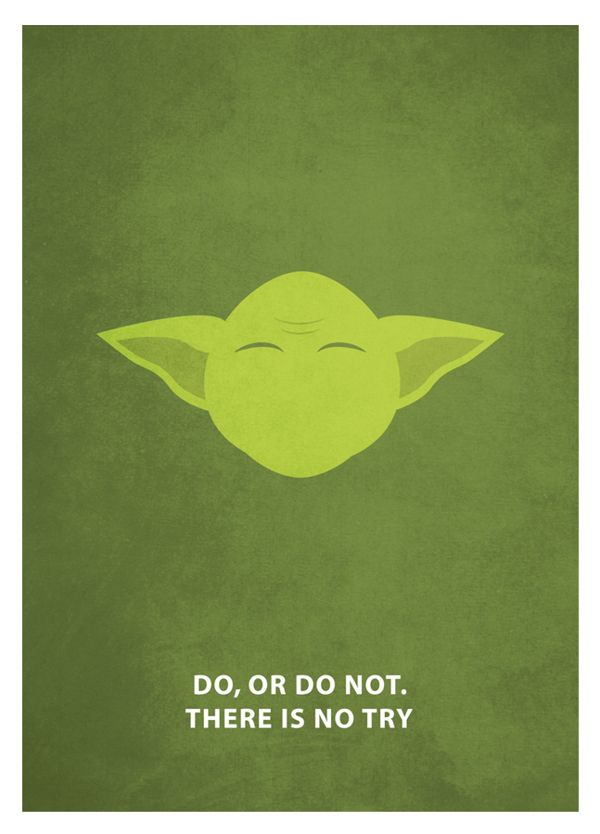 Star Wars - Minimalism by Keith Bogan, via Behance