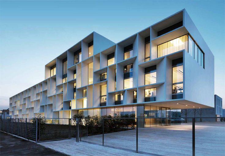 office building facade