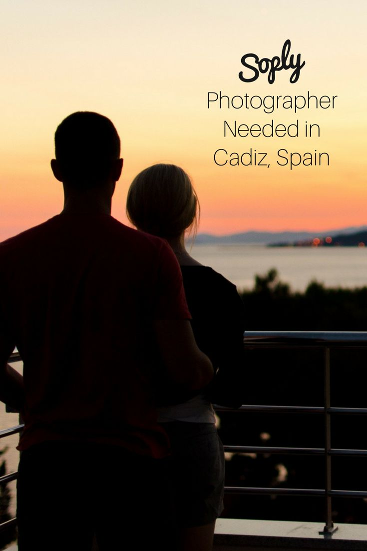 #Photographer needed for an #engagement in #Cadiz #Andalucía #Spain. See the #photography job and apply by clicking the pin!