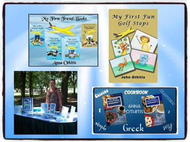 Follow Anna Othitis' Blog, author of My First Travel Books,  My First Sports Books and A Simple Greek Cuisine