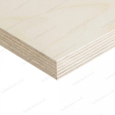 WBP Plywood Birch Through Out BB/CP 12mm x 1220mm x 2440mm £40