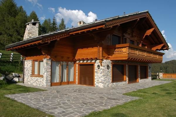 Swiss chalet style house swiss chalet house plans for Swiss house plans