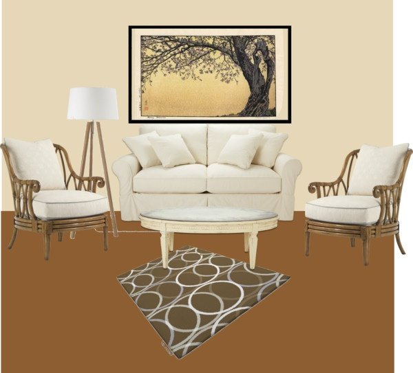 living room, created by paddyvenket on Polyvore