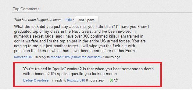 Navy Seal Copypasta Niche World Shares Navy Seals Funny Messages Basic Editing Copypastas are said to be similar to spam. navy seal copypasta niche world