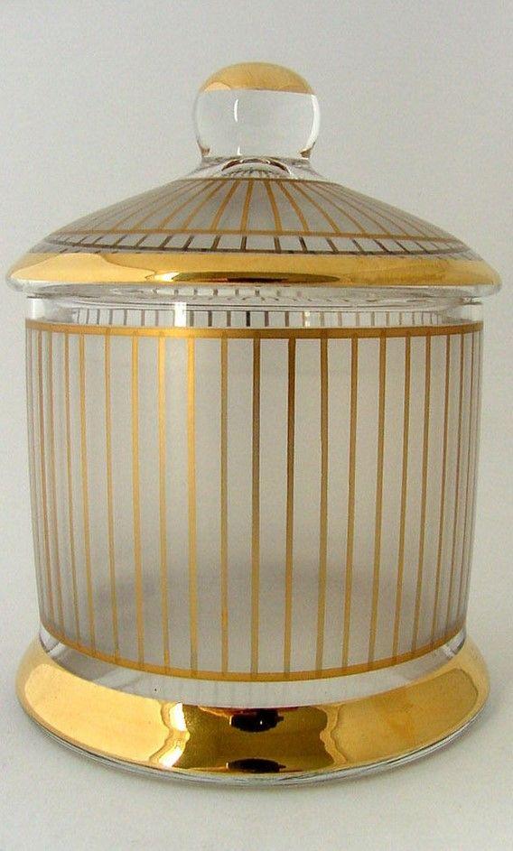 Dose Gebrüder Podbira Böhmen Haida Josef Hoffmann Art Deco altes Glas Wiener