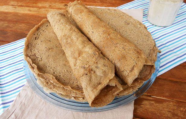 Galettes de sarrasin sans lait, sans oeufs, sans gluten