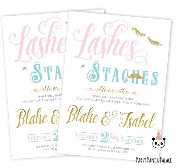 printable gender reveal invitations