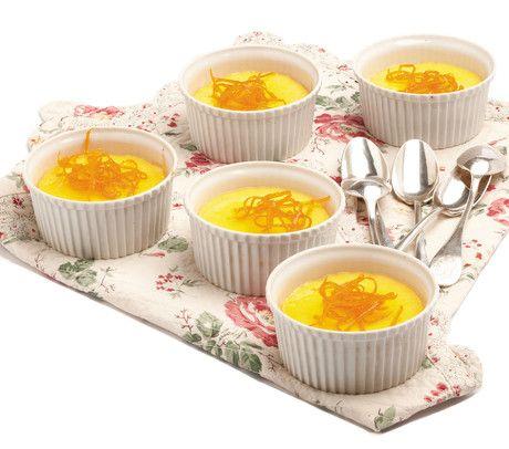 #Crema cotta all'#arancia #dolce #senzaglutine #sweet