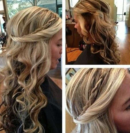 Hairstyles for long huurr ;*