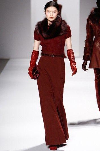 Модные юбки сезона осень–зима 2011/2012: Юбка-макси Elie Tahari   Фотографии