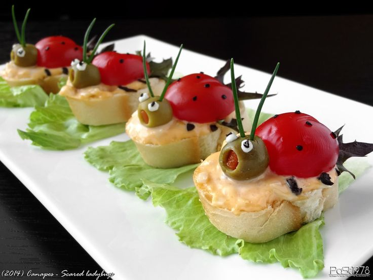 Canapes - Scared ladybugs by PaSt1978 on DeviantArt