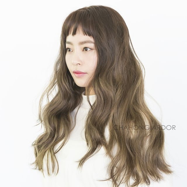 #reeds #hair #hairstyle #longhair #long #wave #bold #moving #perm #cut #color #chahongardor