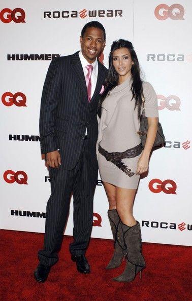 Kim Kardashian and Nick Cannon in 2006