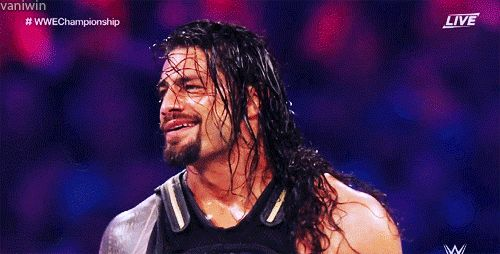 Sorry Triple H, it's just so much sexier when Roman does this.