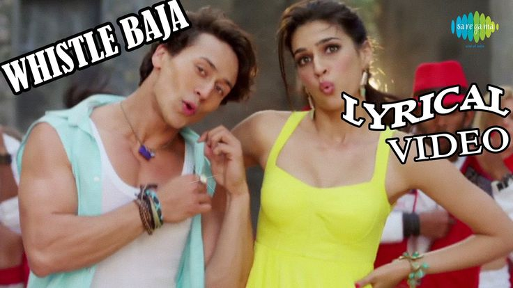 """Presenting Smash Hit """"Whistle Baja"""" Official Lyrical Video from the upcoming movie 'Heropanti' directed by Sabbir Khan...  Song :: Whistle Baja Film :: Heropanti Artist :: Manj & Nindy Kaur Feat Raftaar Music Director :: Manj Musik Lyricist :: Raftaar Directed by : Sabbir Khan Produced By : Sajid Nadiadwala Label :: Saregama India Ltd.  Enjoy and stay connected with us!!"""