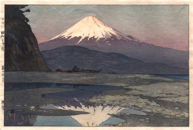 Hiroshi Yoshida - Mount Fuji (1080×729)