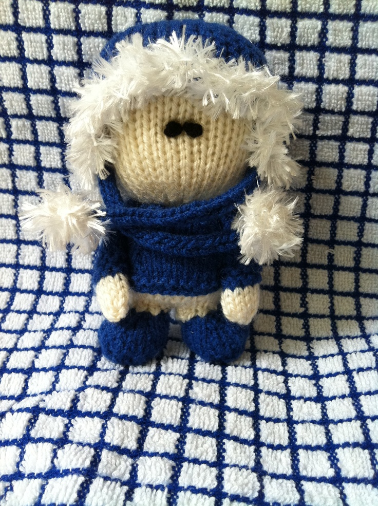 Knitting Patterns For Dolls And Teddy Bears : 1000+ images about My hand knit dolls and teddy bears on Pinterest Baby han...