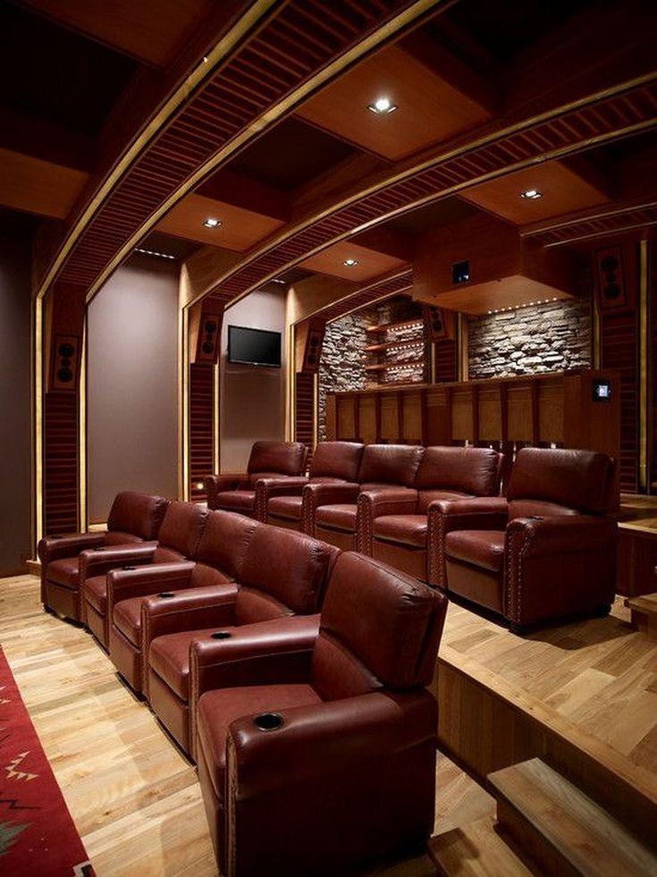 Cool 108 Modern Home Theater Design Inspiration https://modernhousemagz.com/108-modern-home-theater-design-inspiration/ #hometheaterdecor