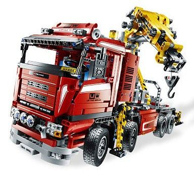 "Lego® Technic Set #8258 ""Crane Truck"" Sticker Sheet"