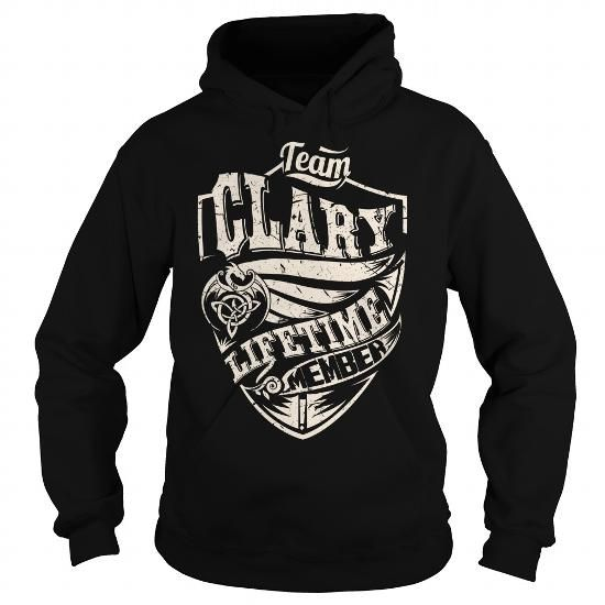 I Love Team CLARY Lifetime Member (Dragon) - Last Name, Surname T-Shirt Shirts & Tees