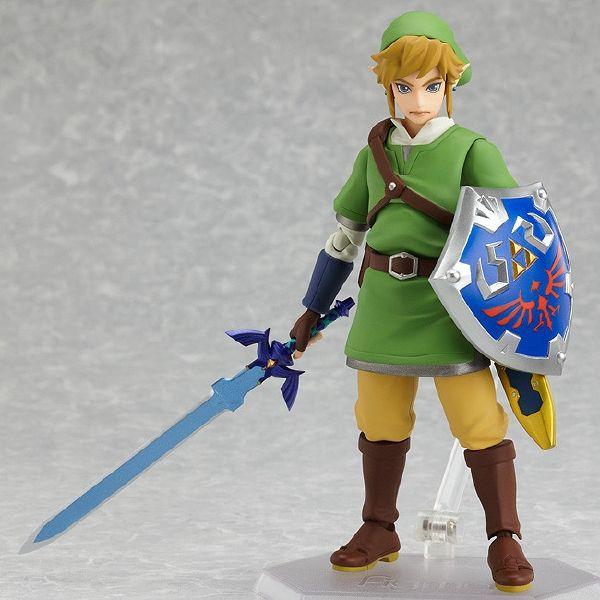 Kirin Hobby : Figma # 153 Legend of Zelda Skyward Sword: Link Action Figure 4545784062432