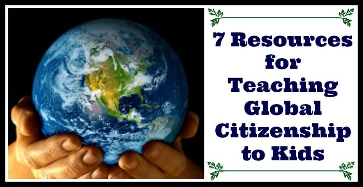7 Resources for Teaching Global Citizenship to Kids (I am looking forward to the revamped Cyber School bus!)