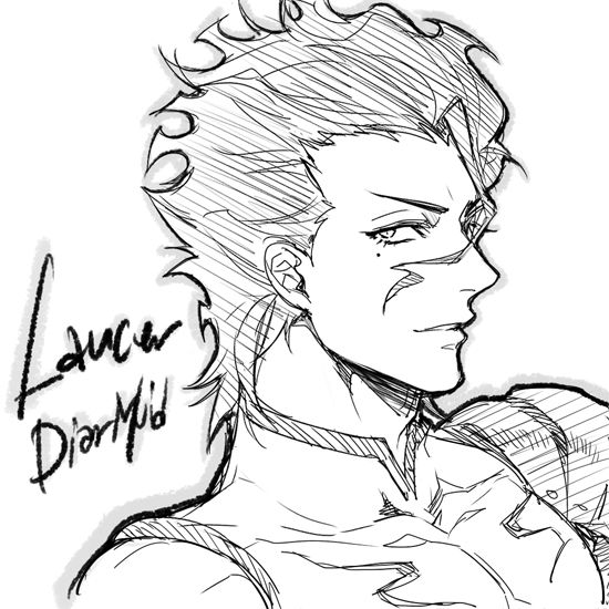 Lancer - Diarmuid Ua Duibhne - Fate/Zero - Fate/Grand Order
