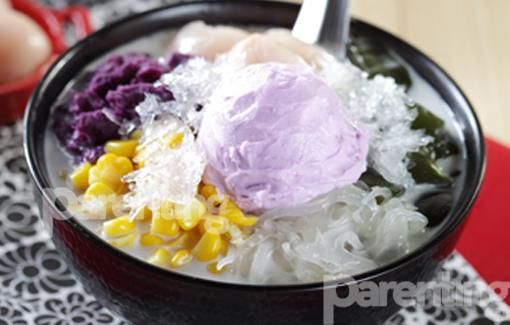 Parenting.co.id: Corn & Taro Soup