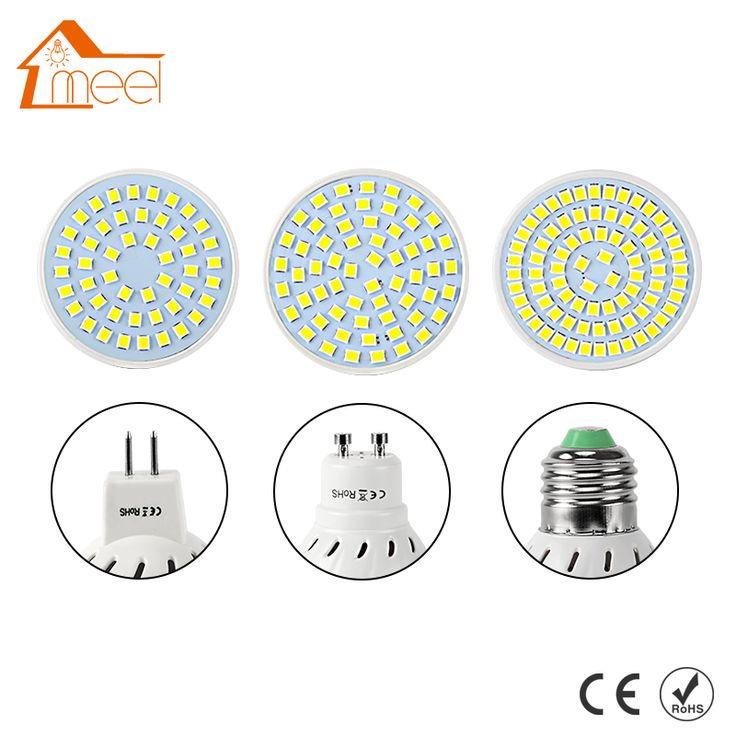 LED Spotlight Bulb GU10 3W 4W 5W 6W AC 220V SMD 2835 5050 LED Bulb MR16 Energy Saving Lampada Lamp LED E27 For Home Bombillas #Affiliate