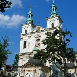 Sanctuaries Krakow sightseeing with a professional guide. Special offer for Pilgrims. Sanctuary of Divine Mercy, Sanctuary of John Paul II and Skałka.