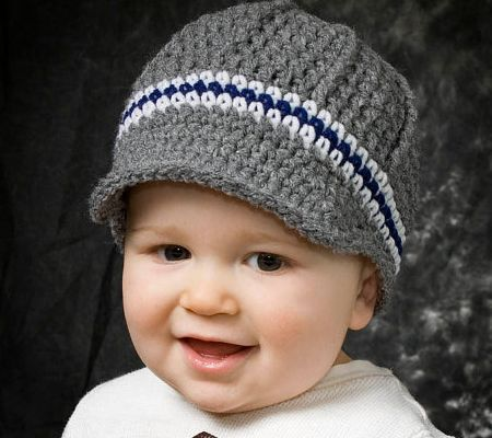 Knit Newsboy Hat Pattern Baby Freeze
