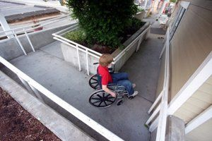 how to build a disabled ramp