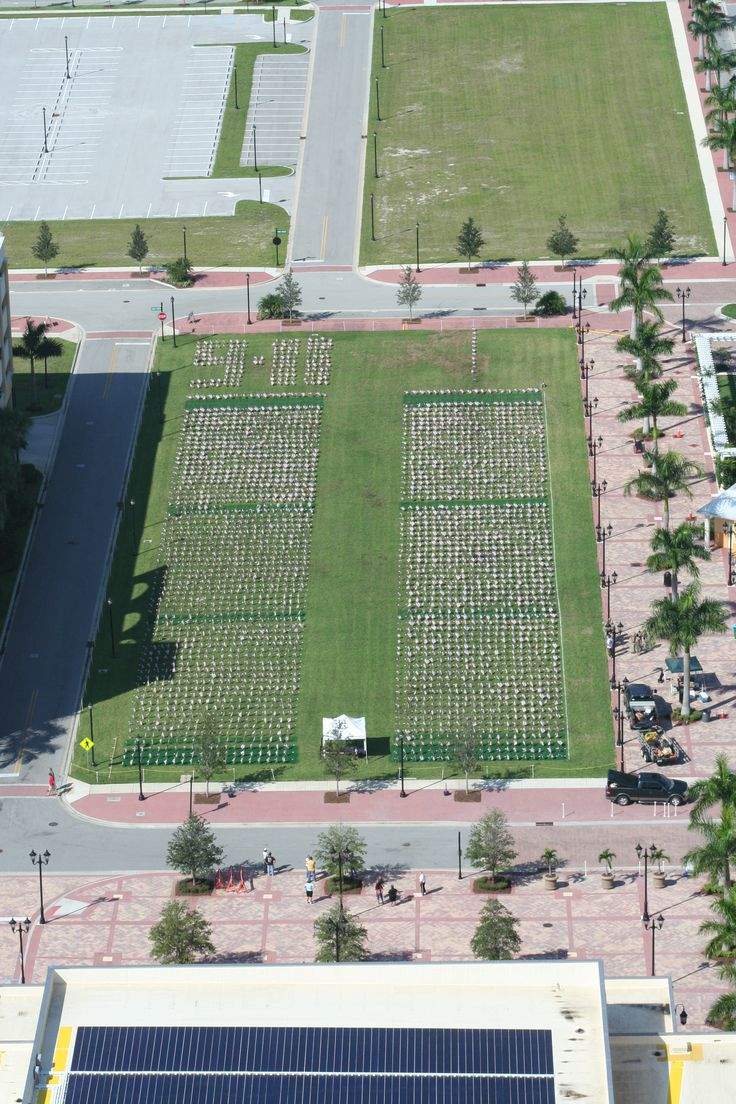 It took me almost one year to create this in Remembering The Lives lost on Sept. 11, 2001.  Here is an aerial shot of American Flags which also holds the name of each victim lost on that horrific day.   I will always remember, and never forget Sept. 11, 2001