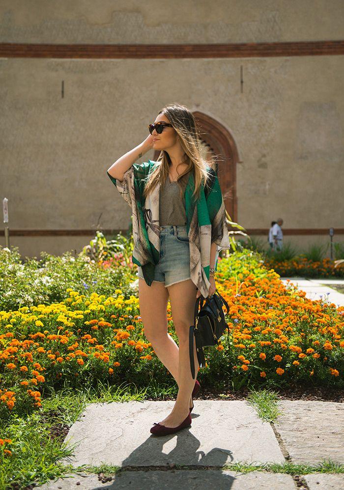 """Meninas, estou apaixonada pelos Kimonos! Tendência para o Verão, ele deixa qualquer look mais charmoso, feminino e interessante, como todas as """"tercei..."""