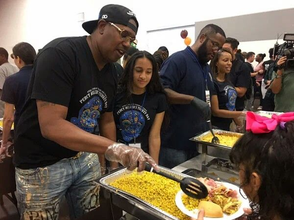 THANKSGIVING IN THE 'A': Ludacris & Eudoxie, NeNe Leakes, Marlo Hampton, Exes Keshia Knight Pulliam, Master P and Big Tigger Hand Out Food & Coats