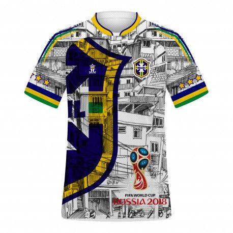 Camiseta da Seleção do Brasil Copa 2018 - 1188  ef844dccd49