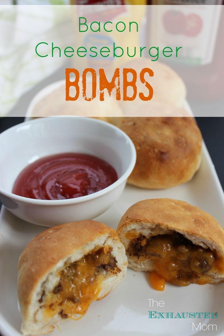 bacon cheeseburger bombs bacon cheeseburgers bacon bombs recipes main ...