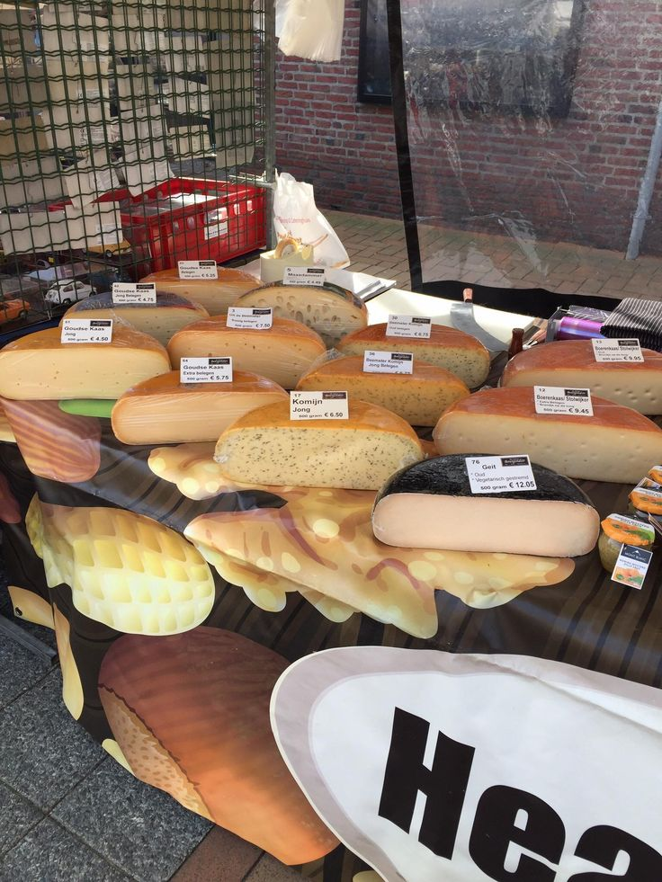 Dutch cheese vendor  #cheese #kaas #markt