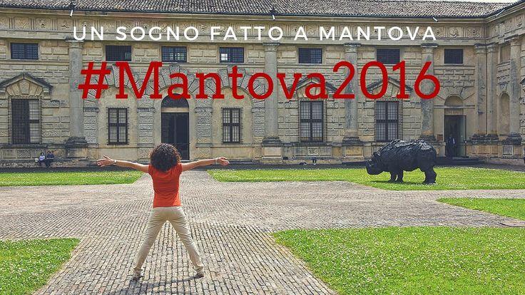 Un sogno fatto a Mantova. Mantova Capitale della cultura 2016 #mantova #pinalapeppina #cultura #musei #italia #vlog #youtube #video #palazzote #mostre #arte #viaggiare #italy #vlogger #vlogging