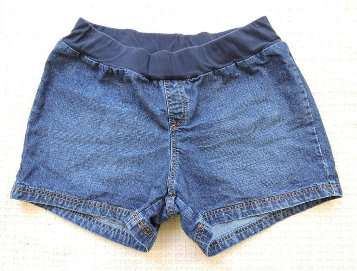 Oh Baby By Motherhood Blue Women  Maternity Shorts Size XL #MotherhoodMaternity #CasualShorts