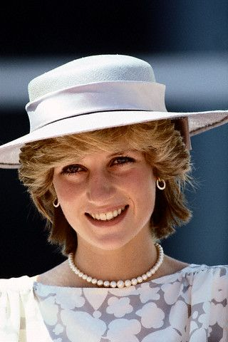 June 21, 1983: Princess Diana attending the opening ceremonies for the city's new police station in Ottawa, Canada. (Day 8)