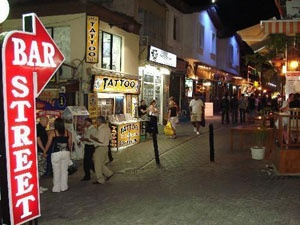 Kusadasi, TurkeyS'Mores Bar, S'More Bar, Bar Street